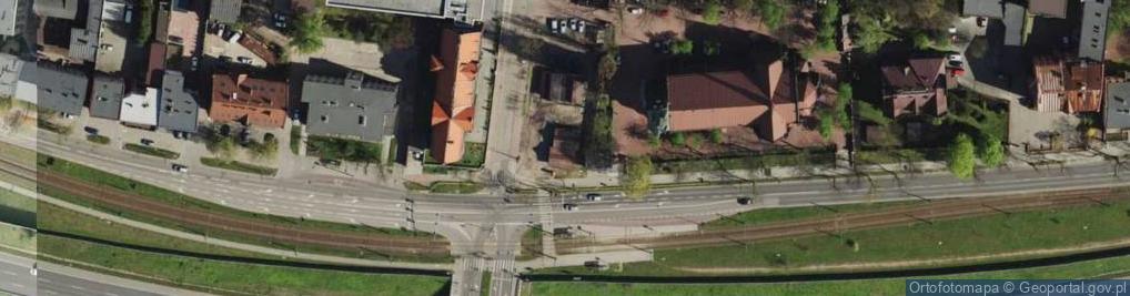 Zdjęcie satelitarne Płaskowickiej Filipiny ul.