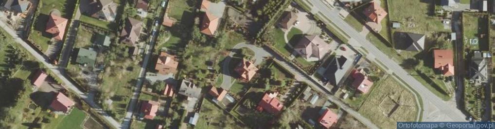 Zdjęcie satelitarne Platynowa ul.
