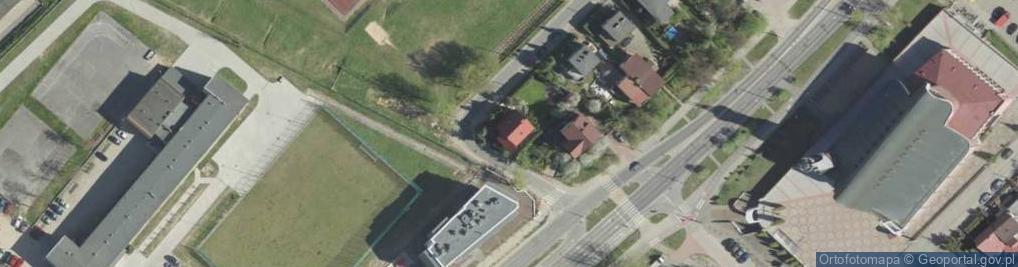 Zdjęcie satelitarne Porzeczkowa ul.