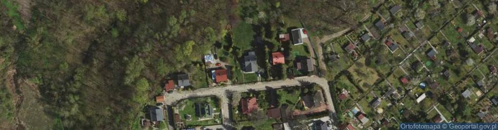 Zdjęcie satelitarne Pod Brzozami ul.