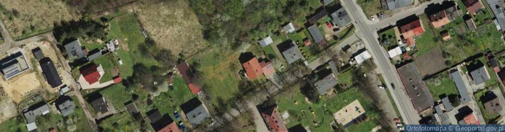 Zdjęcie satelitarne Powstańców ul.