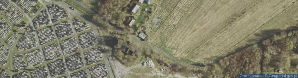 Zdjęcie satelitarne Podborcze ul.