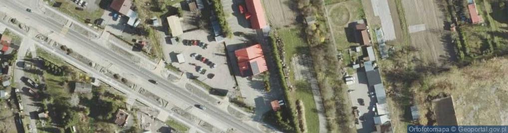 Zdjęcie satelitarne Podgórze ul.