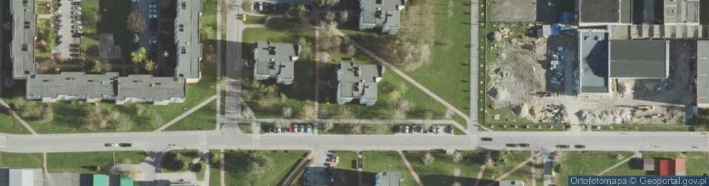 Zdjęcie satelitarne Połaniecka ul.