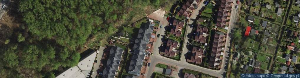 Zdjęcie satelitarne Pokoju ul.