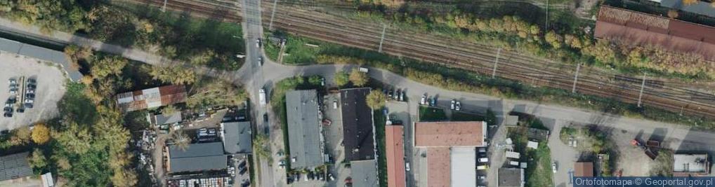 Zdjęcie satelitarne Podkolejowa ul.