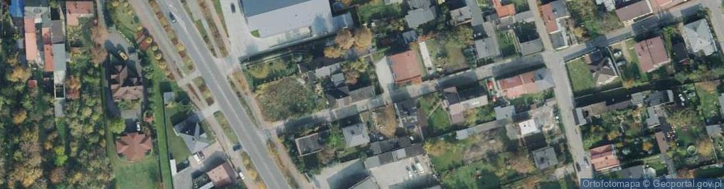 Zdjęcie satelitarne Podwójna ul.