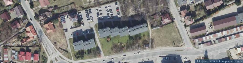 Zdjęcie satelitarne Poddęby ul.