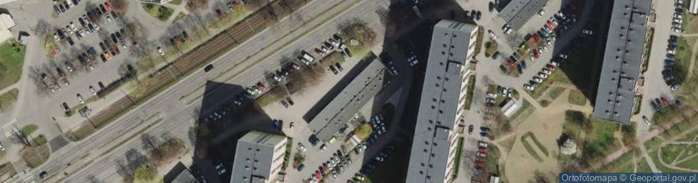 Zdjęcie satelitarne Pomorska ul.