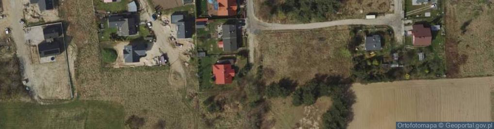 Zdjęcie satelitarne Porannych Mgieł ul.