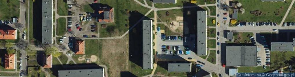 Zdjęcie satelitarne Podhalańska ul.