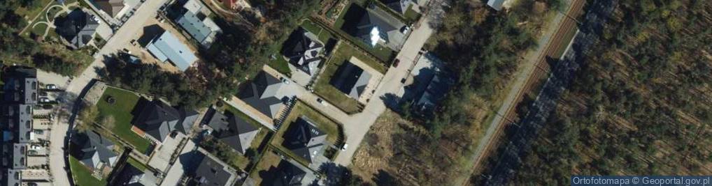 Zdjęcie satelitarne Północna ul.
