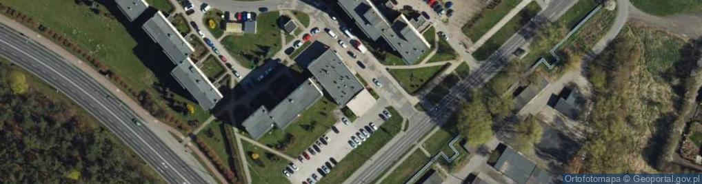 Zdjęcie satelitarne Polskich Skrzydeł ul.