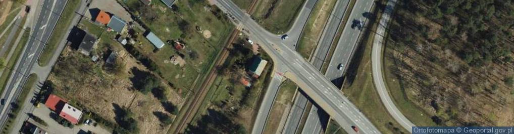 Zdjęcie satelitarne Południowa ul.