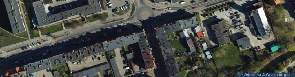 Zdjęcie satelitarne Poniatowskiego ul.