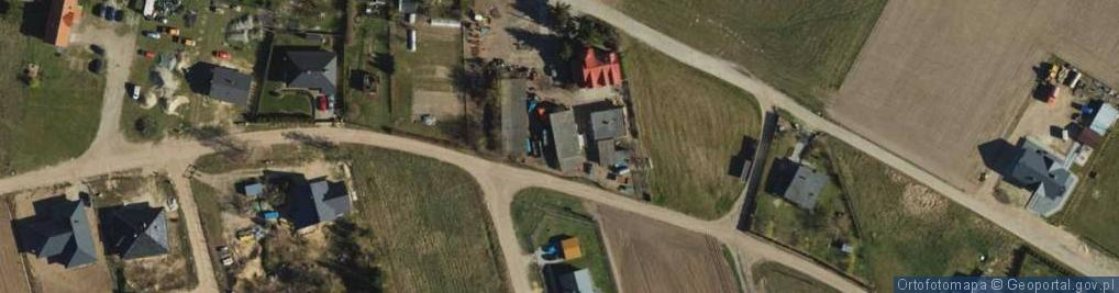 Zdjęcie satelitarne Powojowa ul.