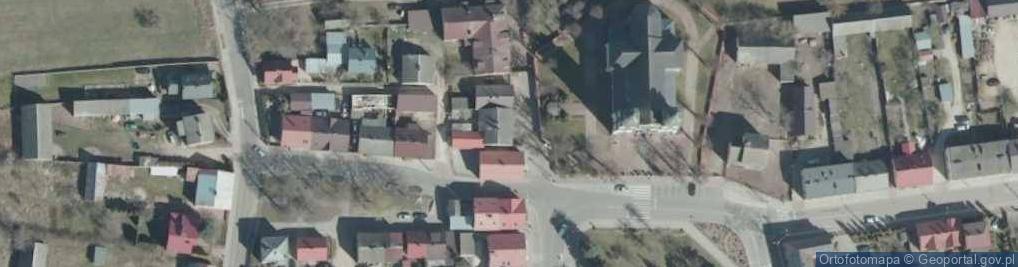 Zdjęcie satelitarne Poświętna ul.