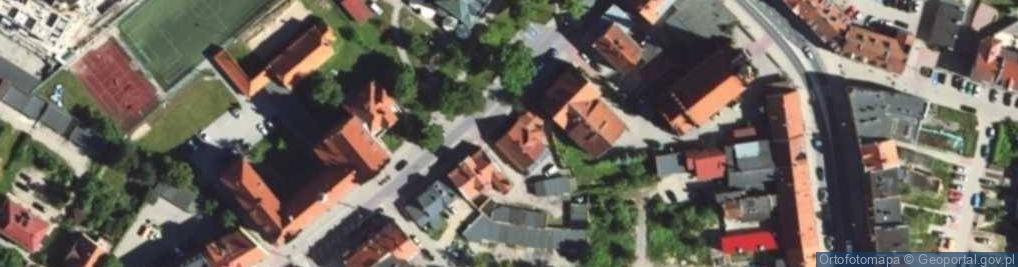 Zdjęcie satelitarne Powstańców Warszawy ul.