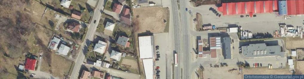 Zdjęcie satelitarne Podkarpacka ul.