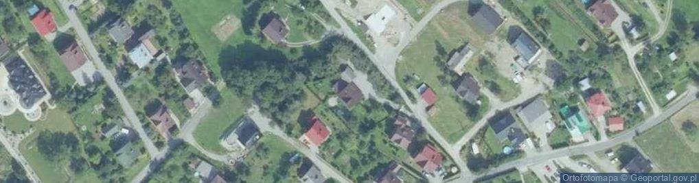 Zdjęcie satelitarne Pod Górą ul.