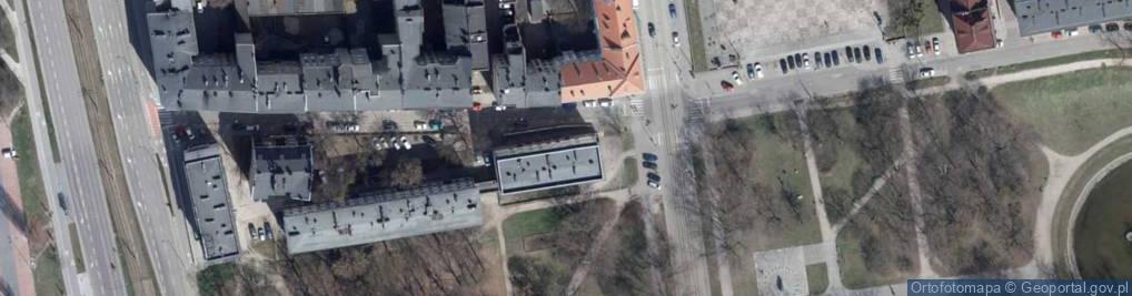 Zdjęcie satelitarne Podrzeczna ul.