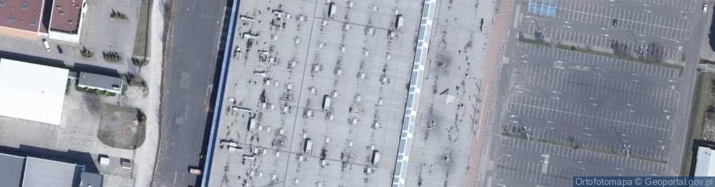 Zdjęcie satelitarne Pojezierska ul.