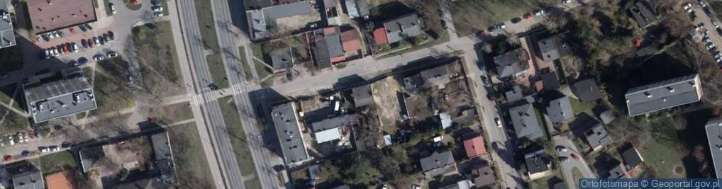 Zdjęcie satelitarne Powszechna ul.
