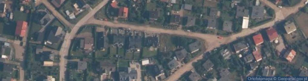 Zdjęcie satelitarne Poprzeczna ul.