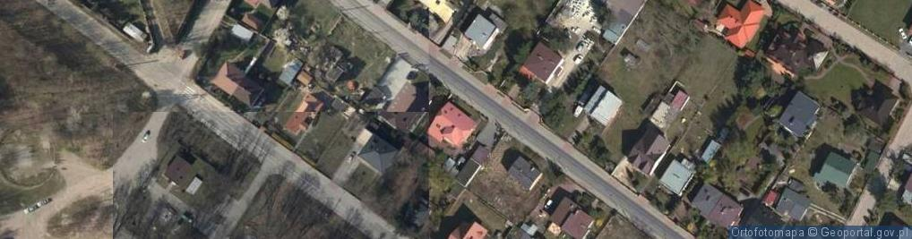 Zdjęcie satelitarne Pomnikowa ul.