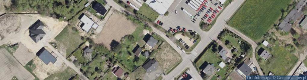 Zdjęcie satelitarne Podleska ul.