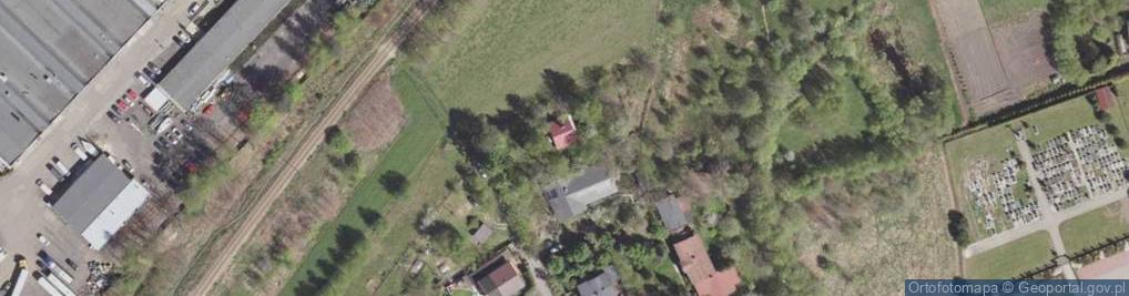 Zdjęcie satelitarne Porazińskiej Janiny ul.