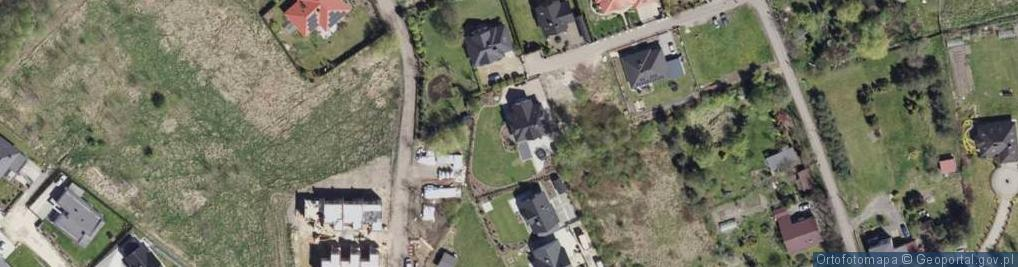 Zdjęcie satelitarne Poziomkowa ul.