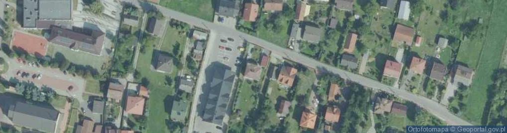 Zdjęcie satelitarne Podłęże ul.