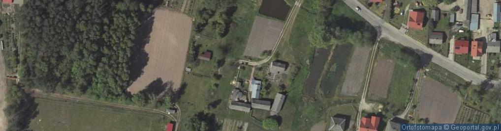 Zdjęcie satelitarne Poniatowa ul.