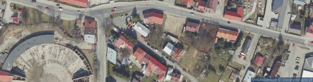 Zdjęcie satelitarne Pocztowa ul.