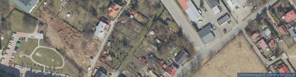 Zdjęcie satelitarne Podhalańczyków ul.