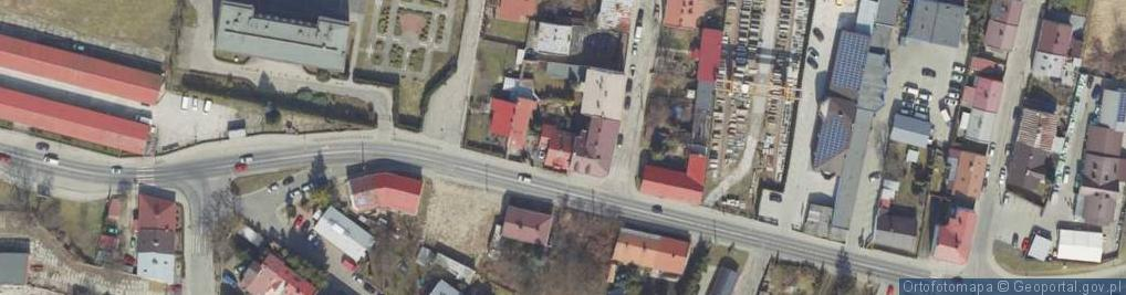 Zdjęcie satelitarne Pola Wincentego ul.