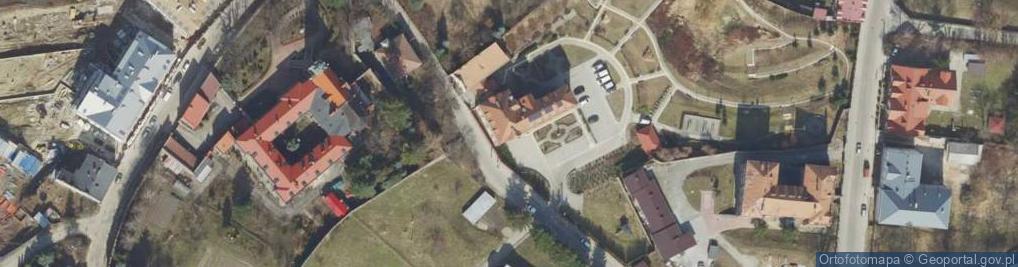 Zdjęcie satelitarne Popiełuszki Jerzego, bł. ks. ul.