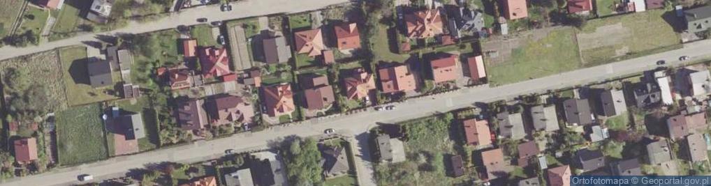 Zdjęcie satelitarne Potworowska ul.