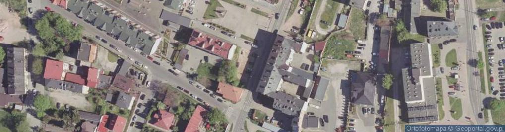 Zdjęcie satelitarne Podwalna ul.