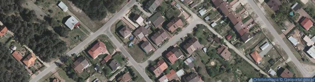 Zdjęcie satelitarne Powstańców Styczniowych ul.