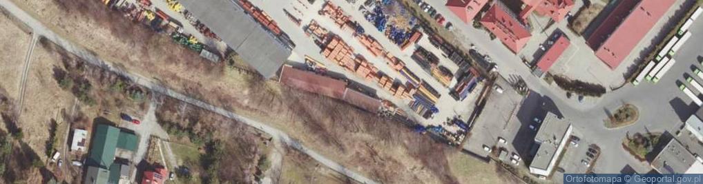 Zdjęcie satelitarne Połonińska ul.