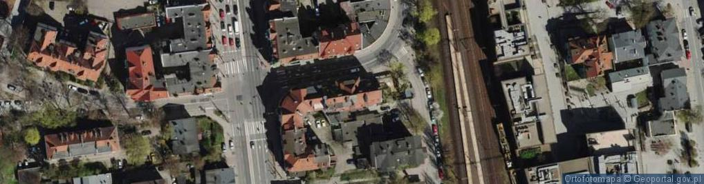 Zdjęcie satelitarne Podjazd ul.