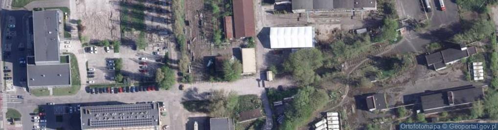 Zdjęcie satelitarne Pod Dębową Górą ul.