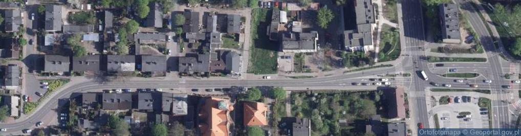 Zdjęcie satelitarne Podgórna ul.