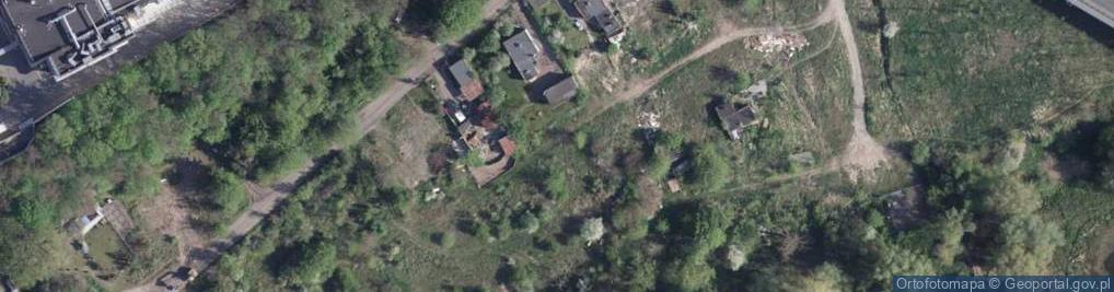 Zdjęcie satelitarne Powiśle ul.