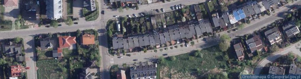 Zdjęcie satelitarne Powstańców Wielkopolskich ul.
