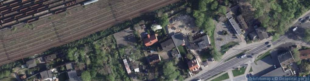 Zdjęcie satelitarne Poznańska ul.