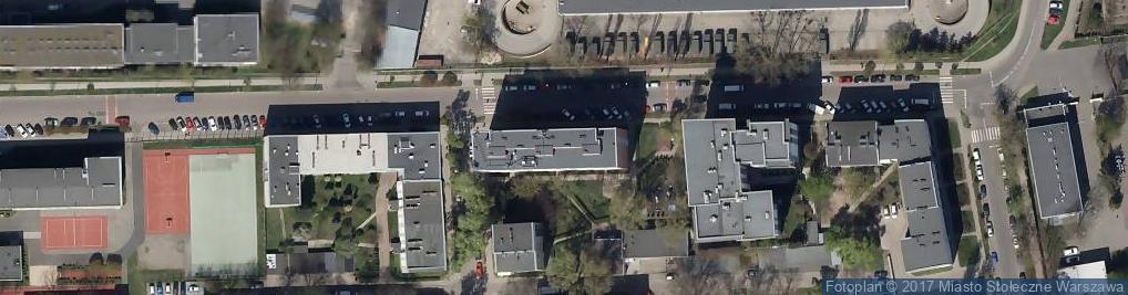 Zdjęcie satelitarne Podchorążych ul.