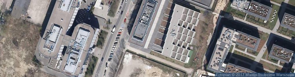 Zdjęcie satelitarne Postępu ul.